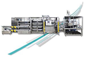 Taglierine-Ribobinatrici per cerotti e bende elastiche